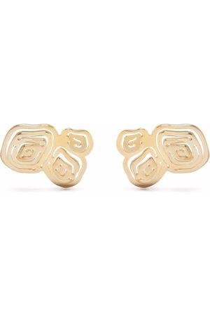 KAY KONECNA Maja Crescent stud earrings