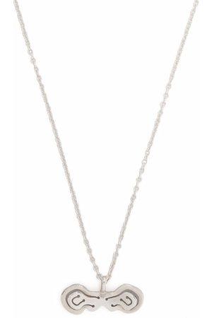 KAY KONECNA Pia Toggle Bar pendant necklace