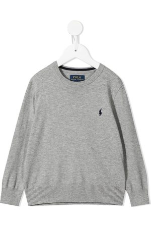Ralph Lauren Boys Polo Shirts - Polo Pony cotton jumper