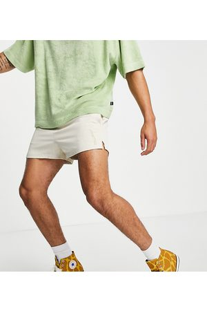 COLLUSION Shorts with embroidery co-ord in -Neutral