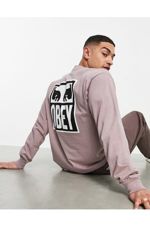 Obey Eyes icon 2 long sleeve top in -Neutral