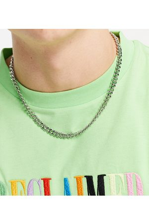 Reclaimed Inspired t bar chain necklace in