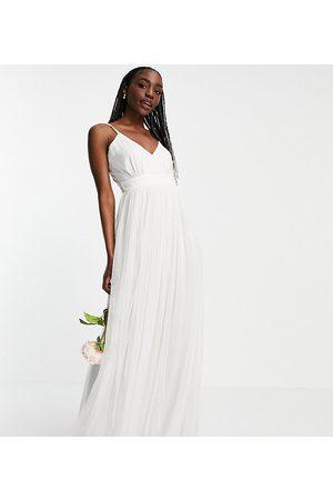 ANAYA Anaya With Love Tall tulle v neck maxi dress in