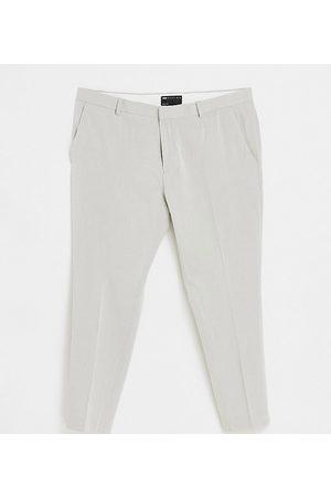 ASOS DESIGN Plus super skinny oxford smart trouser in