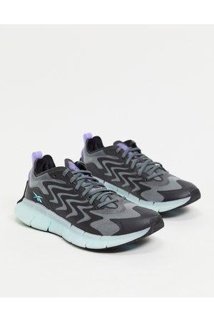Reebok Running Zig Kinetica 21 trainers in and white