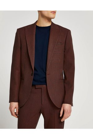 River Island Suit jacket in grid check