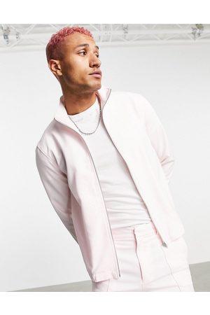 ASOS Co-ord smart track jacket in pastel