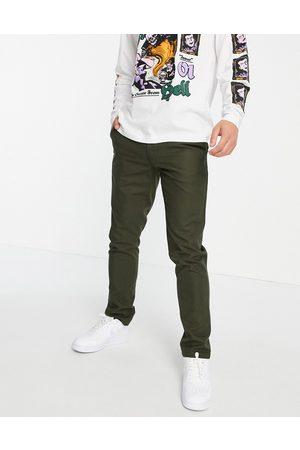 Farah Elm cotton hopsack slim fit trousers