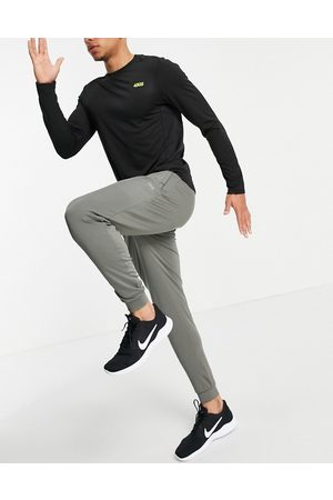 ASOS Icon skinny training jogger with quick dry in khaki