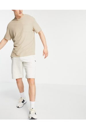 Paul Smith Jersey shorts in oatmeal-Neutral
