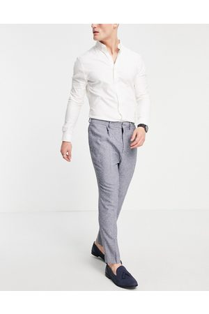 ASOS Super skinny suit trousers in nep texture
