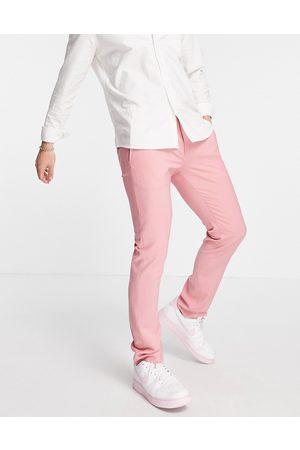 Twisted Tailor Skinny fit suit trousers in rose