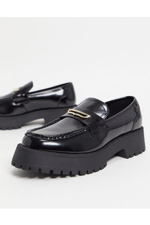 ASOS Men Loafers - Loafers in faux leather on chunky sole