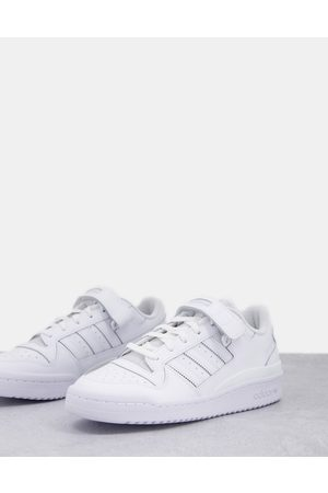 adidas Forum low trainers in triple