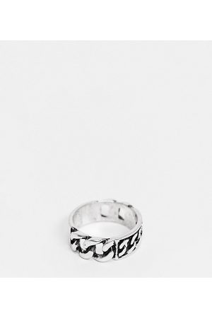 Reclaimed Inspired chain ring in burnished