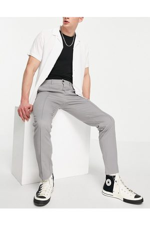 ASOS Slim chinos with pintuck in