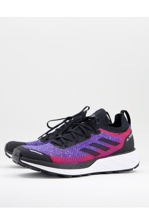 adidas Adidas Terrex Outdoors Two Trail trainers in black and