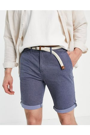 TOM TAILOR Chino shorts with belt in