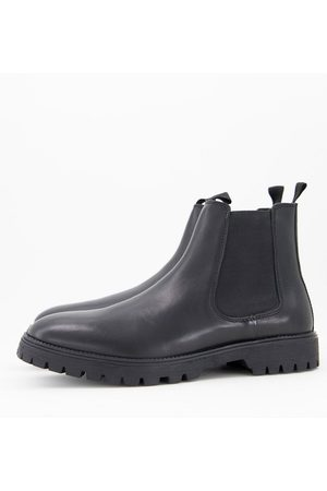 ASOS Men Boots - Chelsea boots in leather with chunky sole