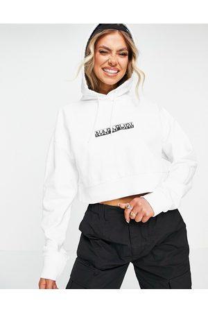 Napapijri Box cropped hoodie in