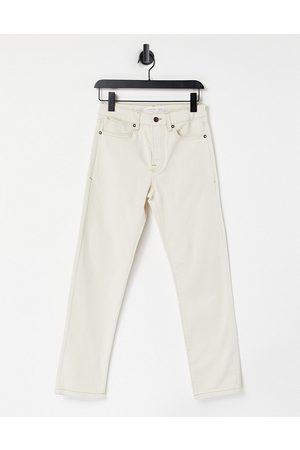 Topman Men Straight - Straight jeans in ecru