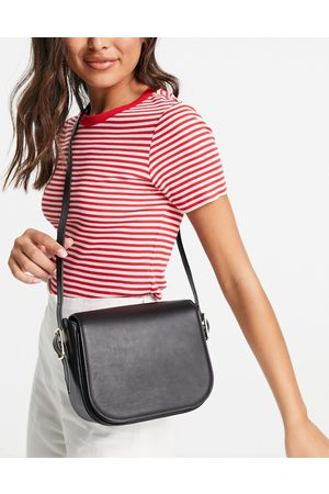 & OTHER STORIES Women Handbags - Leather cross body saddle bag in