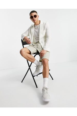 ASOS Soft tailored super skinny blazer in seersucker