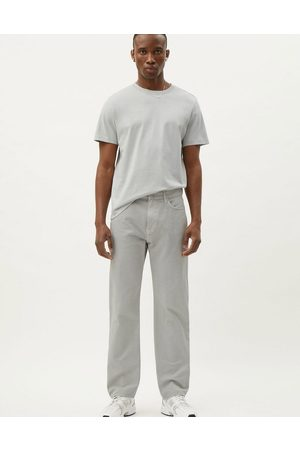 Weekday Space Washed Trousers in Light