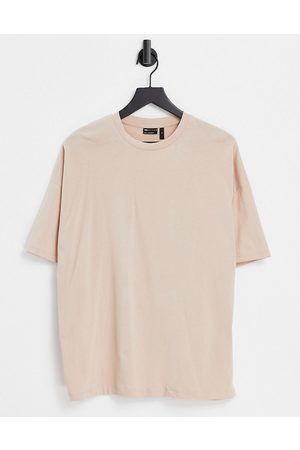 ASOS Oversized t-shirt in beige