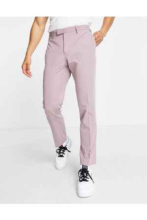River Island Skinny suit trousers in lilac