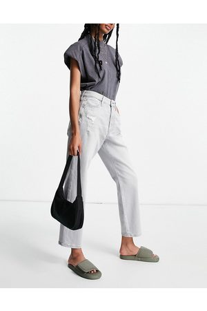 River Island Women Straight - Blair high rise straight cut jeans in