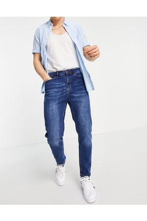 New Look Tapered jeans in mid wash
