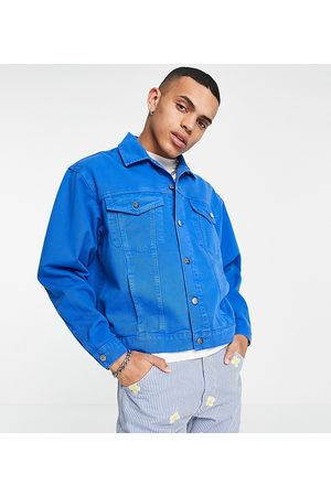 Reclaimed Inspired denim jacket in mid wash co-ord