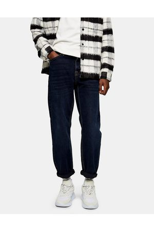Topman Relaxed jeans in indigo-Navy
