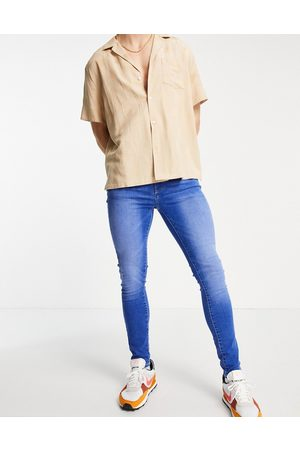 New Look Super skinny jeans in bright wash
