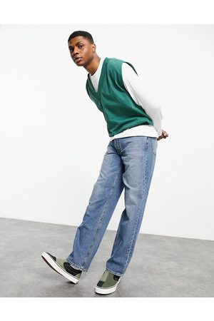 ASOS Straight leg jeans in vintage mid wash