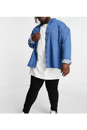 River Island Big & Tall spray on jeans in