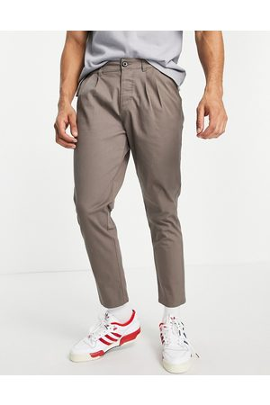 ASOS Cigarette chinos with pleats