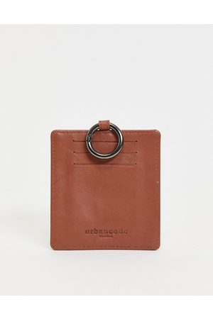 Urban Code Men Wallets - Leather card holder with coin section