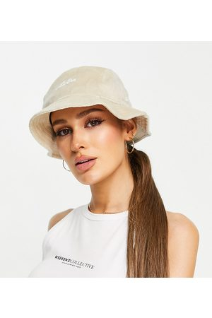 New Era Exclusive bucket hat in stone towelling-Neutral