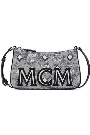 MCM Women Handbags - Mini Vintage Jacquard Baguette