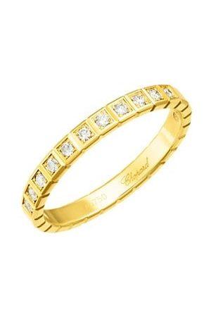 Chopard Rings - Ice Cube Diamond & 18K Yellow Ring