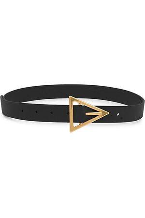 Bottega Veneta Belts - Triangle-Buckle Leather Belt