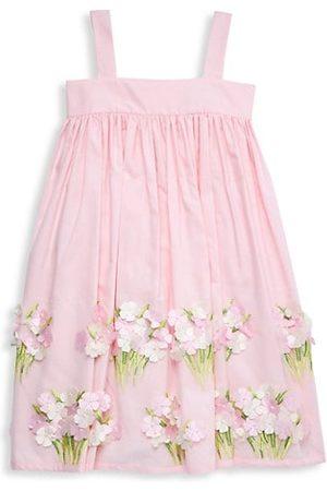 Isabel Garreton Girls Summer Dresses - Little Girl's & Girl's Appliqué Sundress