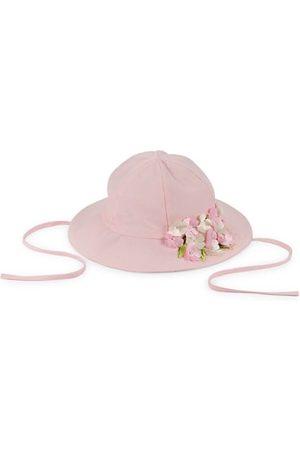 Isabel Garreton Girls Hats - Little Girl's & Girl's Applique Flower Sun Hat