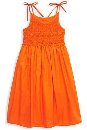 Isabel Garreton Girls Summer Dresses - Little Girl's & Girl's Smocked Tie Sundress