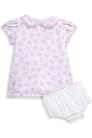 Isabel Garreton Baby Printed Dresses - Baby Girl's 2-Piece Rose Print Collared Dress & Bloomers Set