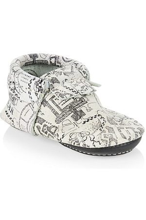 Freshly Picked Baby's x Harry Potter Maurader's Map City Leather Moccasins