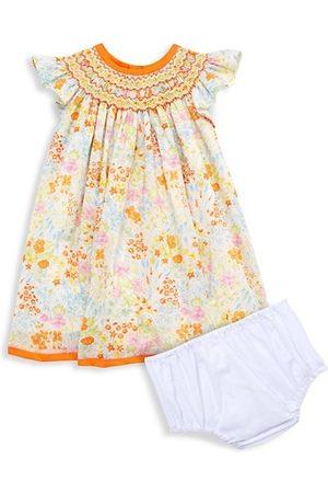 Isabel Garreton Baby Printed Dresses - Baby Girl's 2-Piece Floral Sundress & Bloomers Set