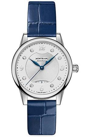Montblanc Boheme Croc-Embossed Leather Strap Watch